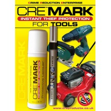 CRE MARK Tool Security Property Marking Kit -Black