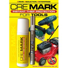 CRE MARK Tool Security Property Marking Kit - Silver
